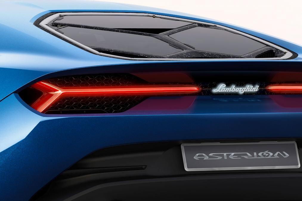 Lamborghini Asterion LPI 910-4 concept - rear lights