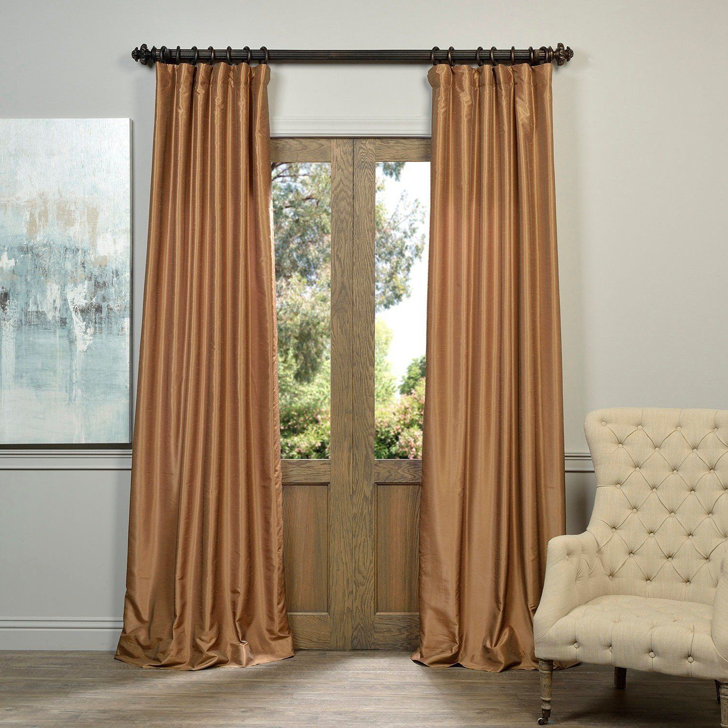 industrial you will drapes rail rods design curtains curved curtain like and window rod this double