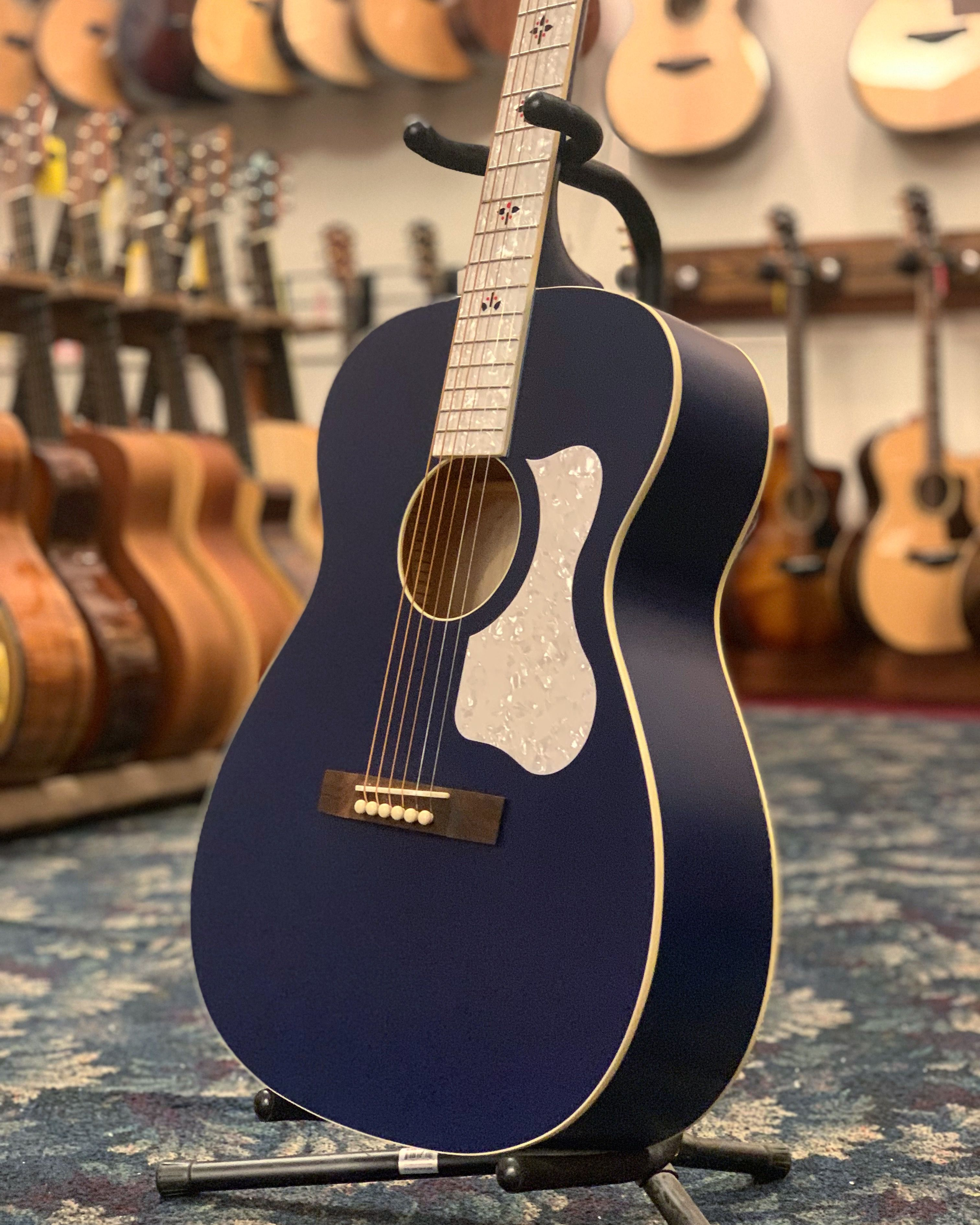 Recording King Century33 Limited Edition 2 000 Acoustic Guitar Wabash Blue Acoustic Guitar Guitar Recording King