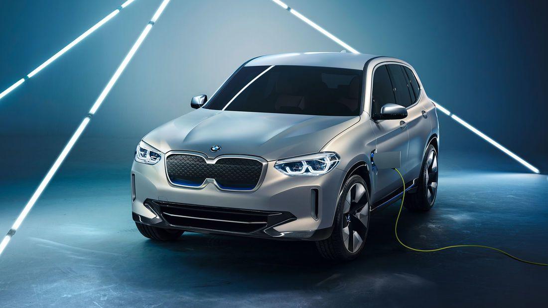 Bmw Ix3 2020 Elektro Suv Mit Benziner Reichweite In 2020 Bmw Elektroautos Bmw 1er
