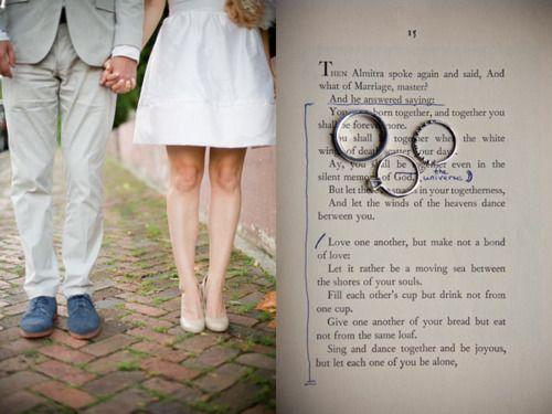 the prophet // reading // ring shot | Nashville wedding ...