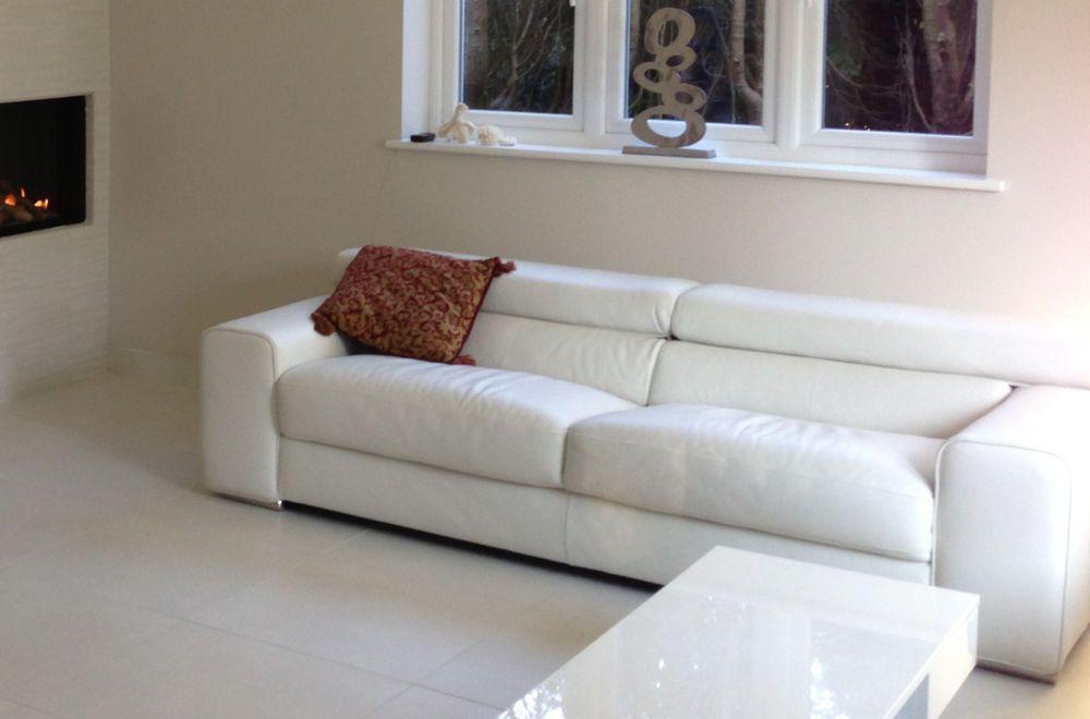 Natuzzi Style White Leather Sofa Brand New In Packaging White Leather Sofas Red Leather Sofa Sectional Stylish Sofa Sets