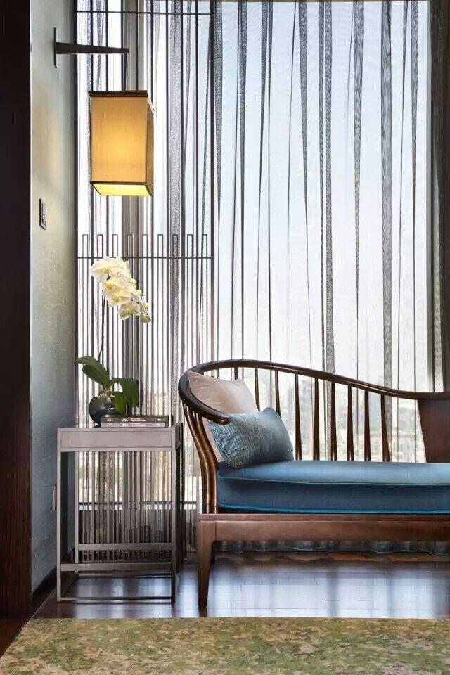 Modern Asian Interior With Natural Materials: Pin By Jason On Jason的室内设计素材