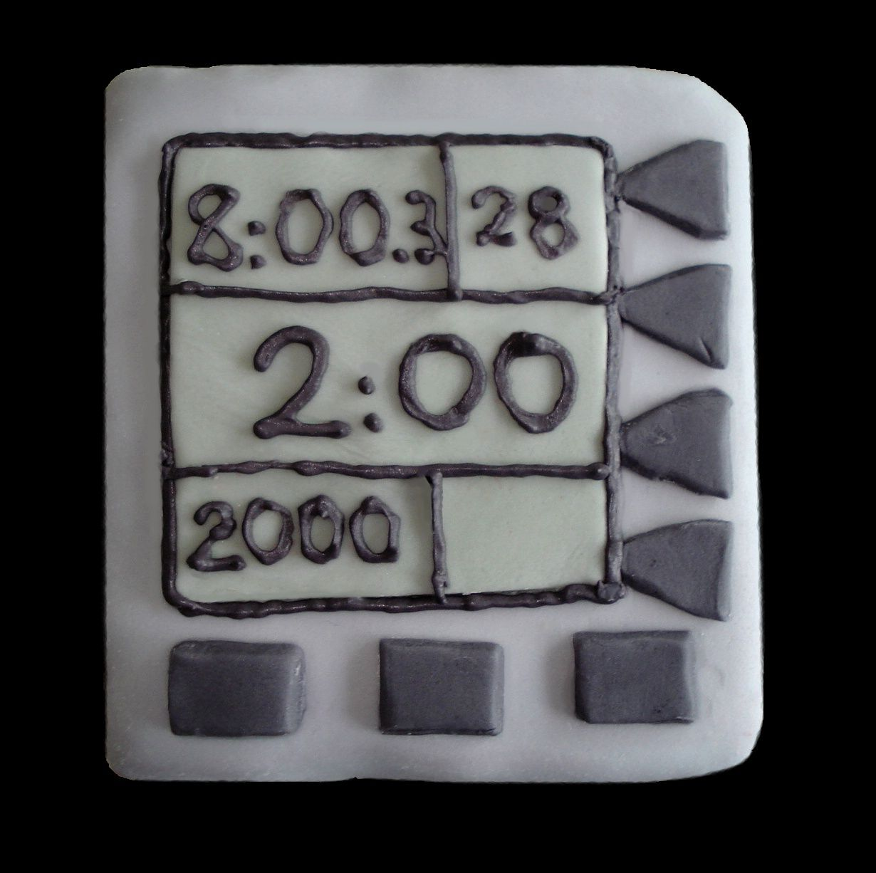 Ergo Screen Cake For The Rowers Amongst Us Delicious