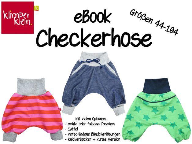 eBook Checkerhose 44-104 Schnittmuster Anleitung | Short pattern and ...