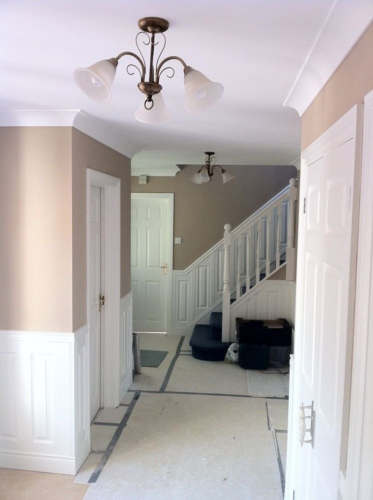 Stair Box In Bedroom: Wallpapering Hall Stairs And Landing Ideas