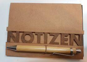 Mondbresal: Notizblockhüllen aus Snappap - Freebie