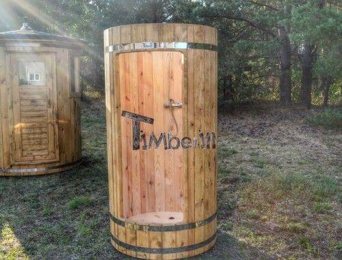 Dusche Aus Holz Dusche Sauna Im Garten Gartendusche