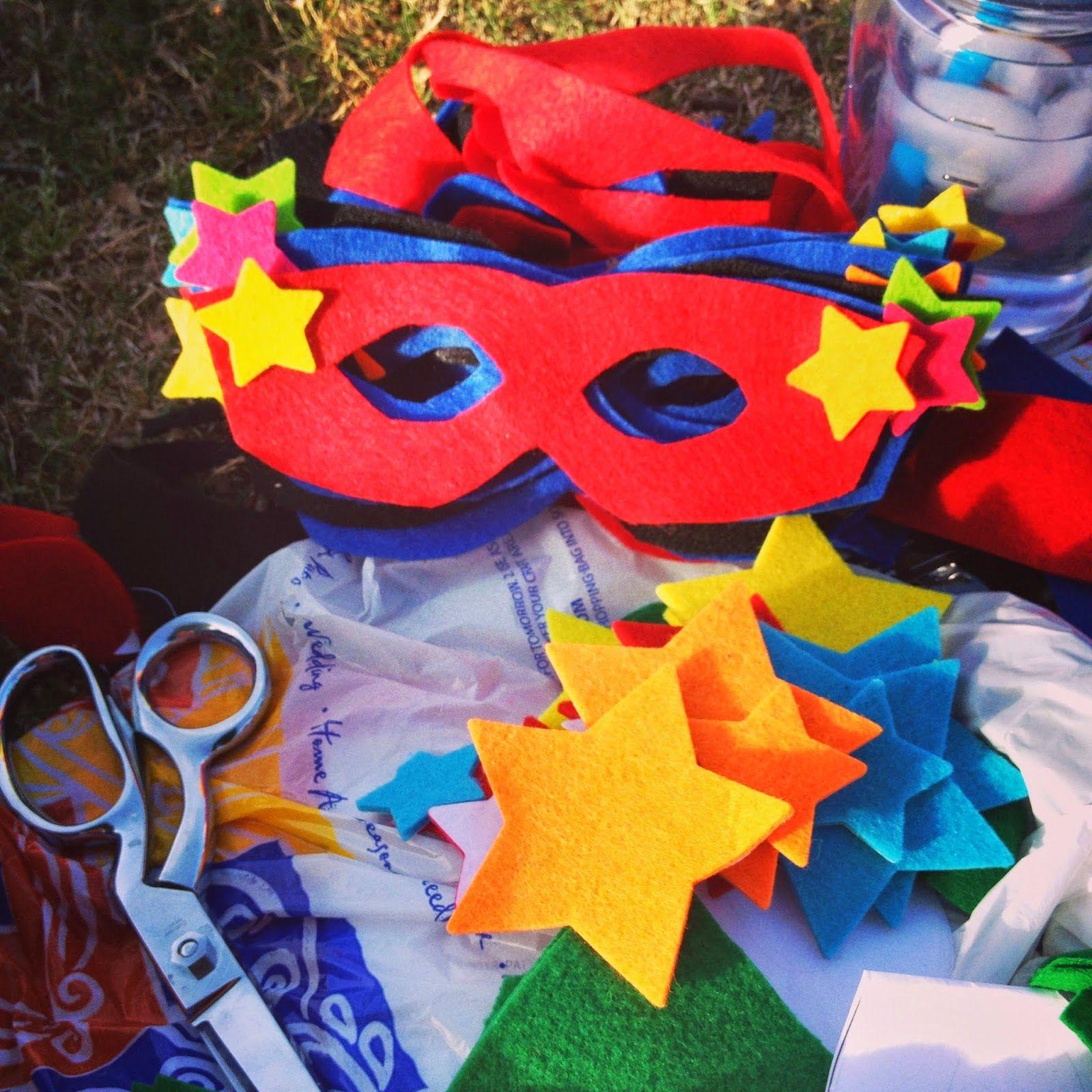 No Sew-Super Hero Cape & Mask   Craft Ideas   Pinterest   Nähideen ...