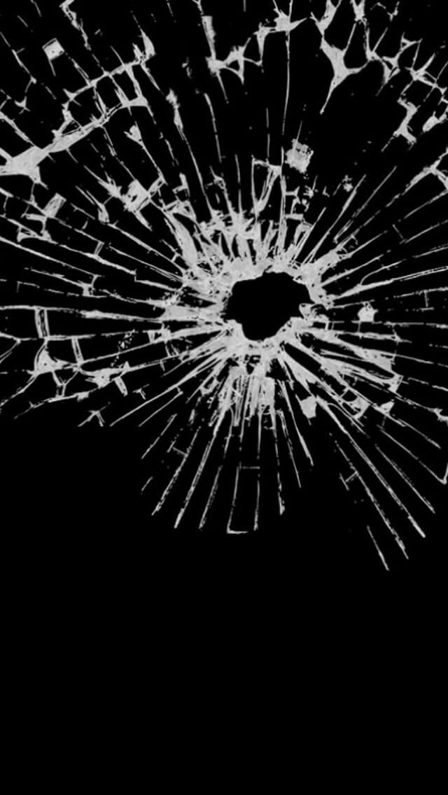 April Fools Prank For IPhone And Mobile Users 1920x1200 Cracked Screen Wallpapers