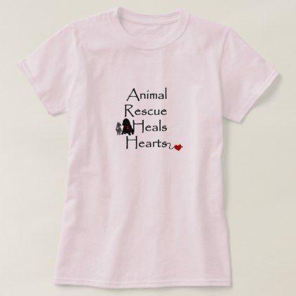 0bb127666 Animal Rescue TShirt - animal gift ideas animals and pets diy ...