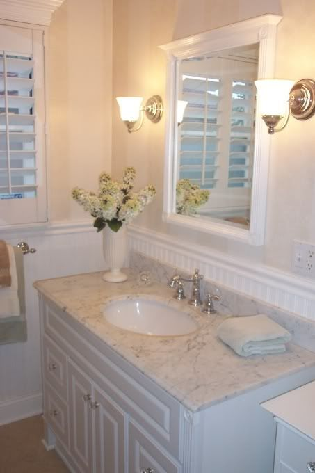 For The Hall Bath. Cover Tile With