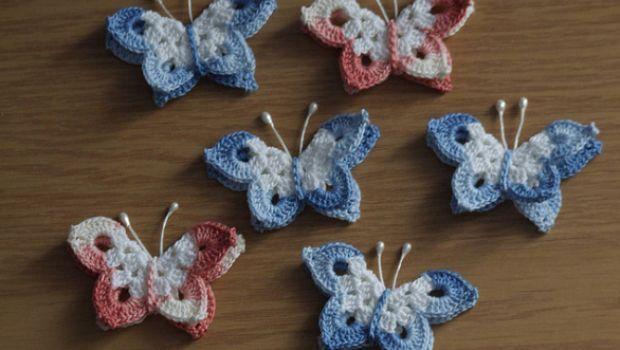 Farfalle Alluncinetto Con Facili Schemi Scelti Da Pinkblog