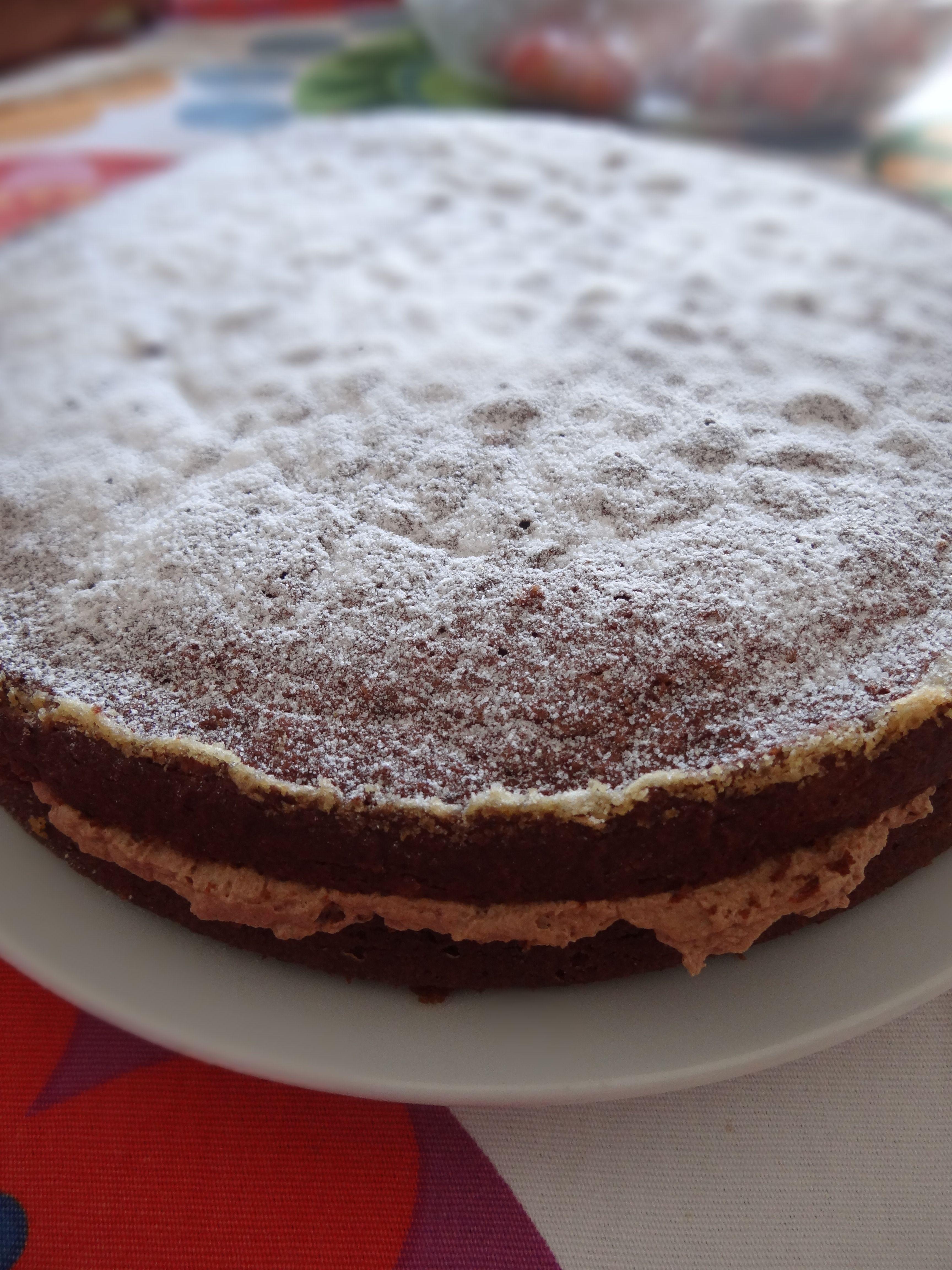 My birthday - chocolate cake