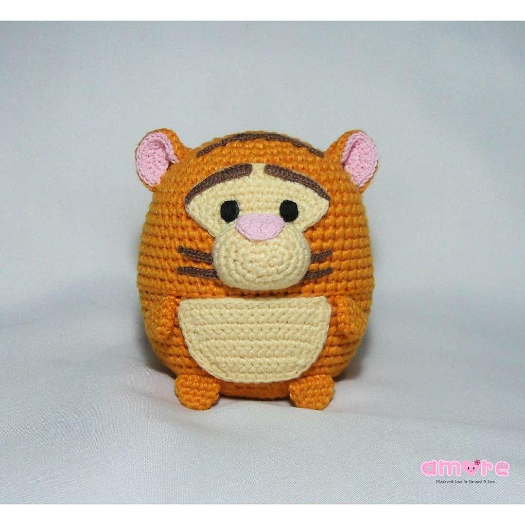 PATRÓN DE TIGGER AMIGURUMI (POOH) | Crochet disney, Crochet teddy ... | 1080x1080