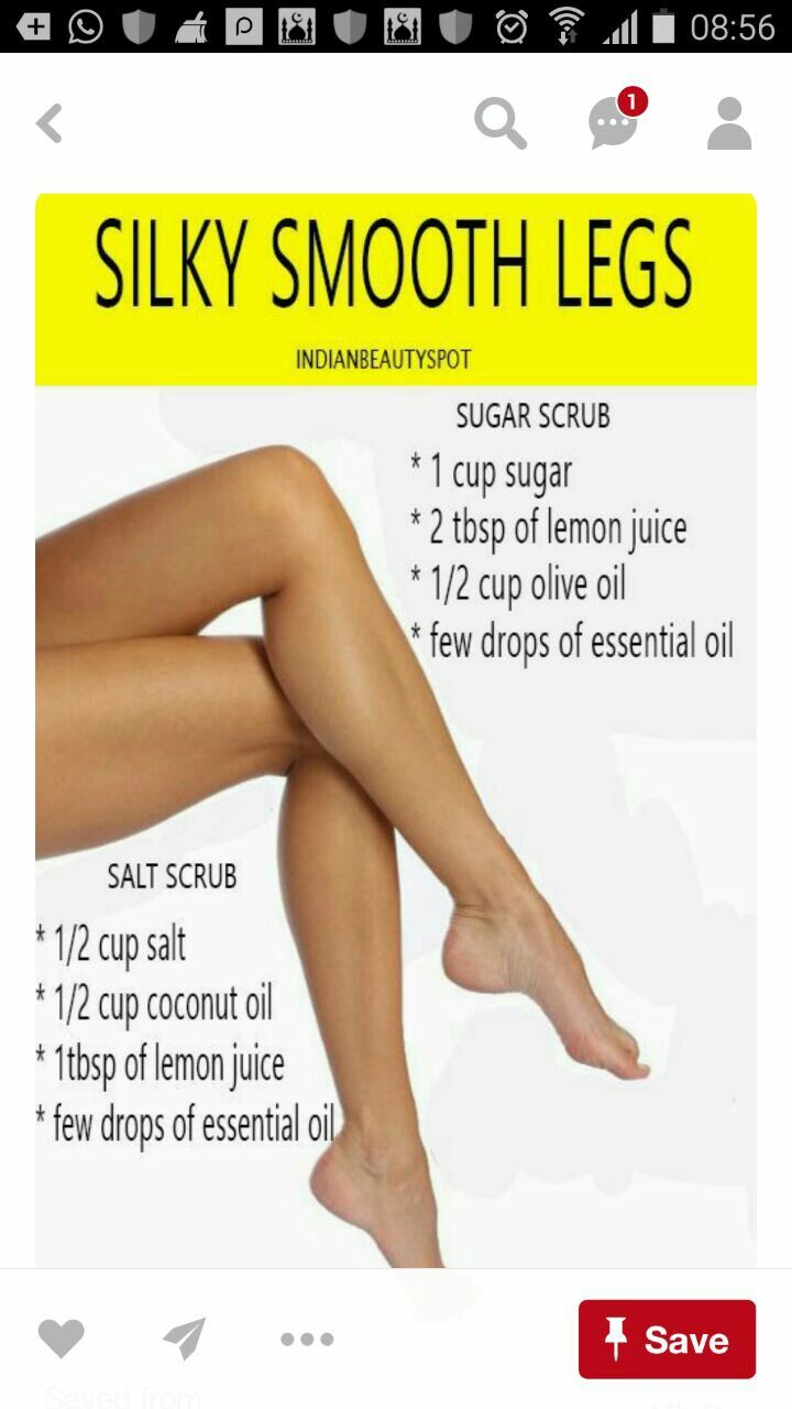 Use scrub for Smooth leg  Overnight beauty, Silky smooth legs