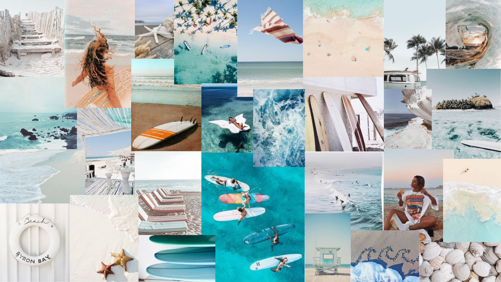 Blue And White Beach Aesthetic Pink Wallpaper Desktop Aesthetic Desktop Wallpaper Cute Desktop Wallpaper