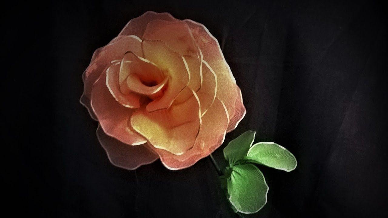 Jak zrobić różę z rajstop - Pomysły plastyczne dla każdego