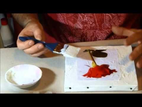 Faire un tableau aux doigts en 12 minutes youtube peinture tableau pint - Comment faire un tableau contemporain ...