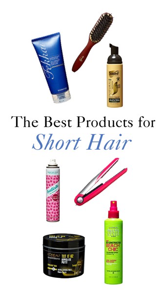 The Best Beauty Products For Short Hairstyles Short Hair Styles Hair Hair Styles