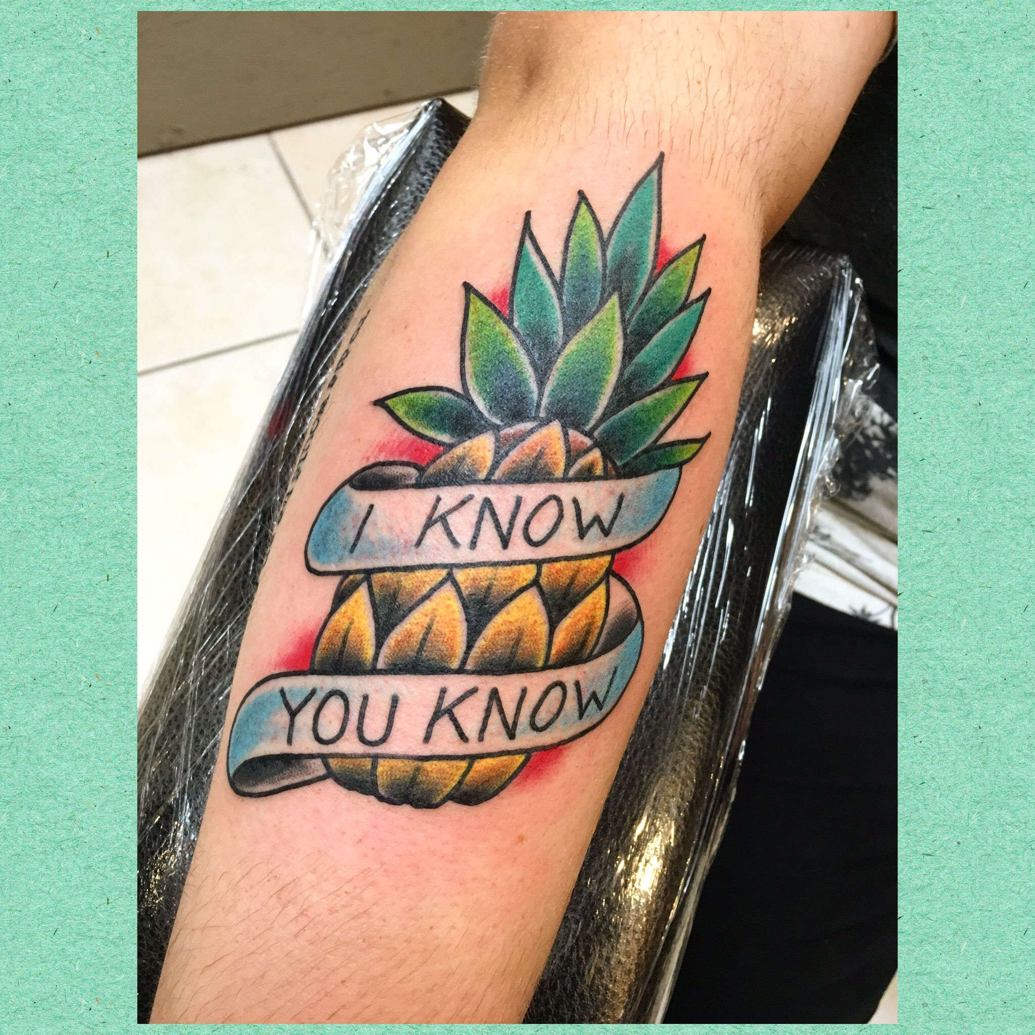 Tattoo Designs Usa: Psych USA Tattoo #tattoo #PsychUSA #pineapple