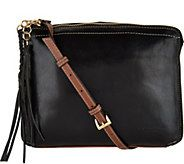 As Is Tignanello Vintage Leather Crossbody Carson A299277