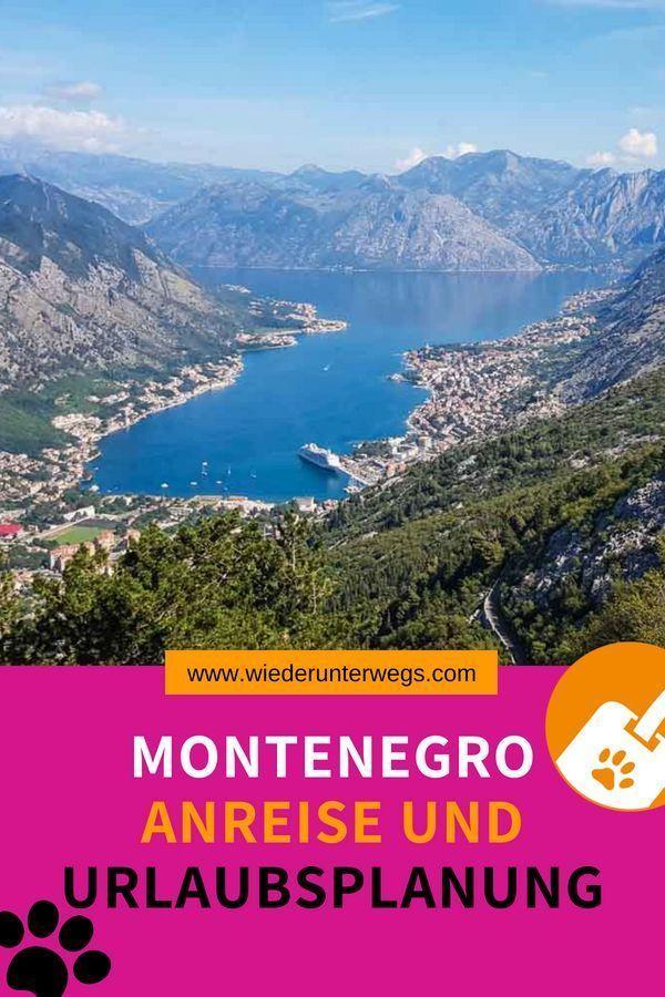 Montenegro Urlaub: Tipps zur Anreise und Planung in 2020
