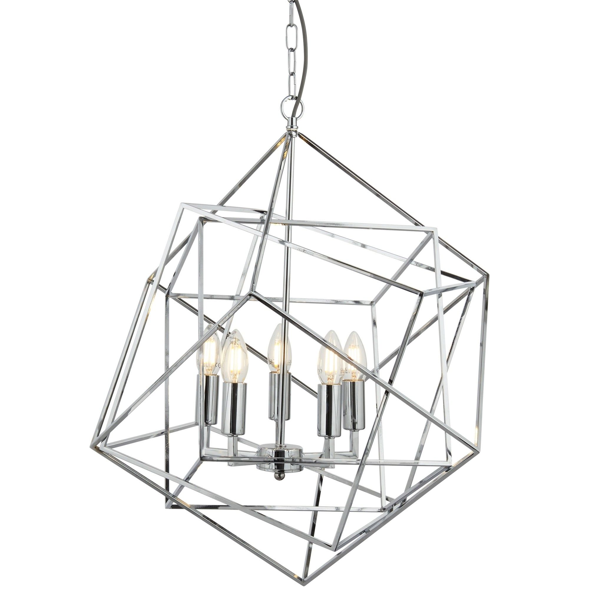 Searchlight Cube Pendant Ceiling Light
