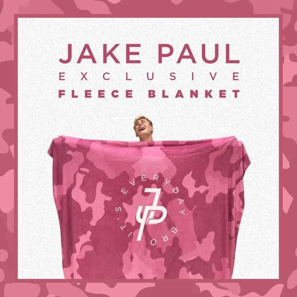 Pink Camo Fleece Blanket
