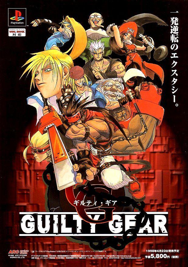 [Game do Mês] - Guilty Gear  9289aad0ec22d1f7a64da1f3c170edfa