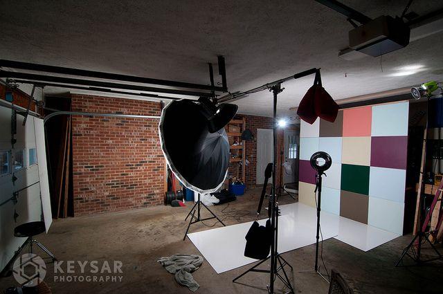 Можно ли сделать фотостудию в гараже