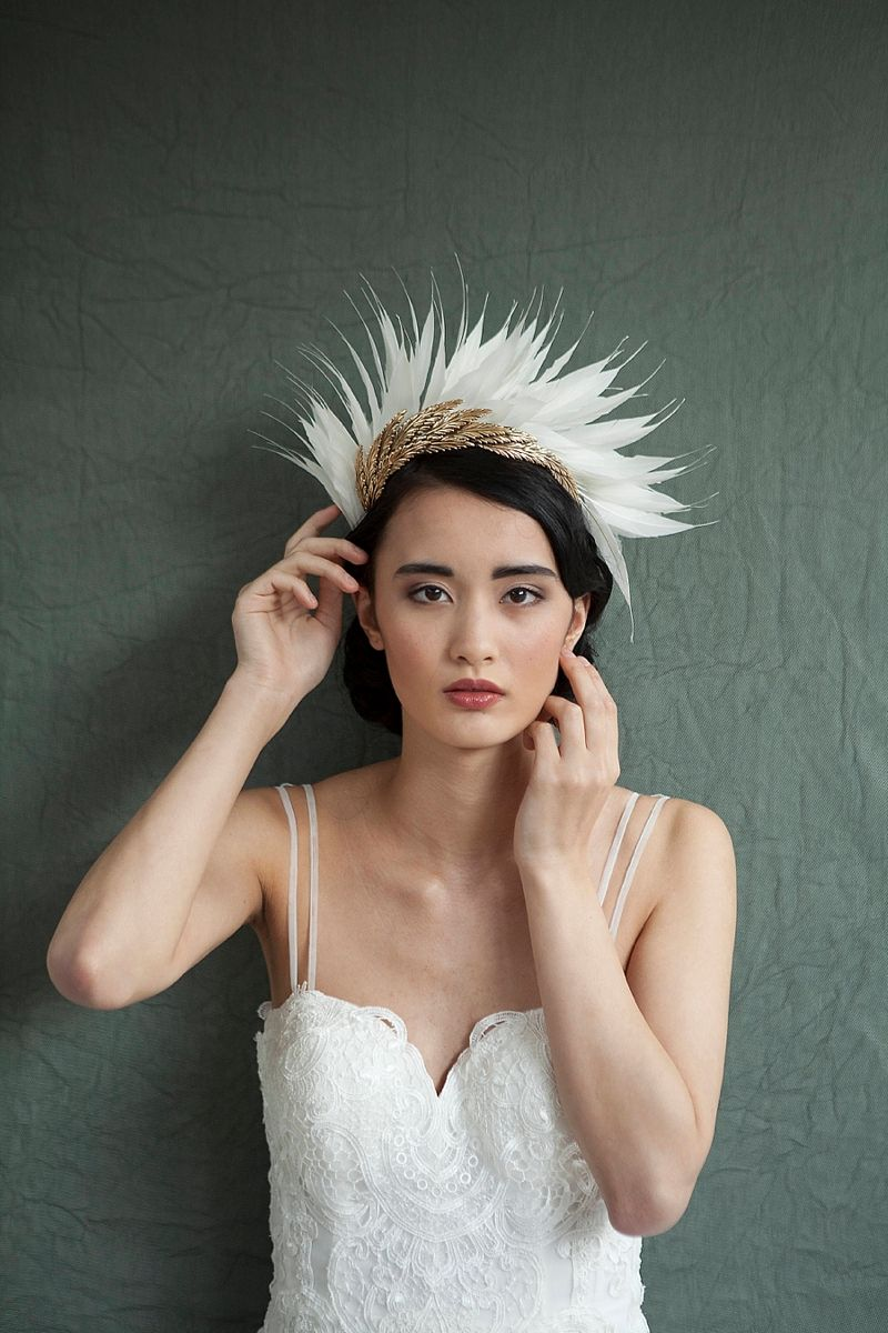 Obsess Over These 15 Unique Wedding Veil Alternatives #bridalheadpieces