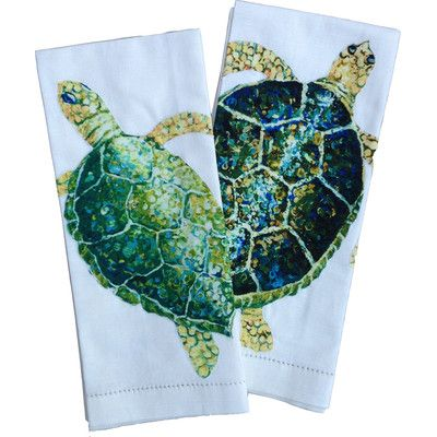 Bathroom Towels To Go With The Sea Turtle Bathroom Set Turtle