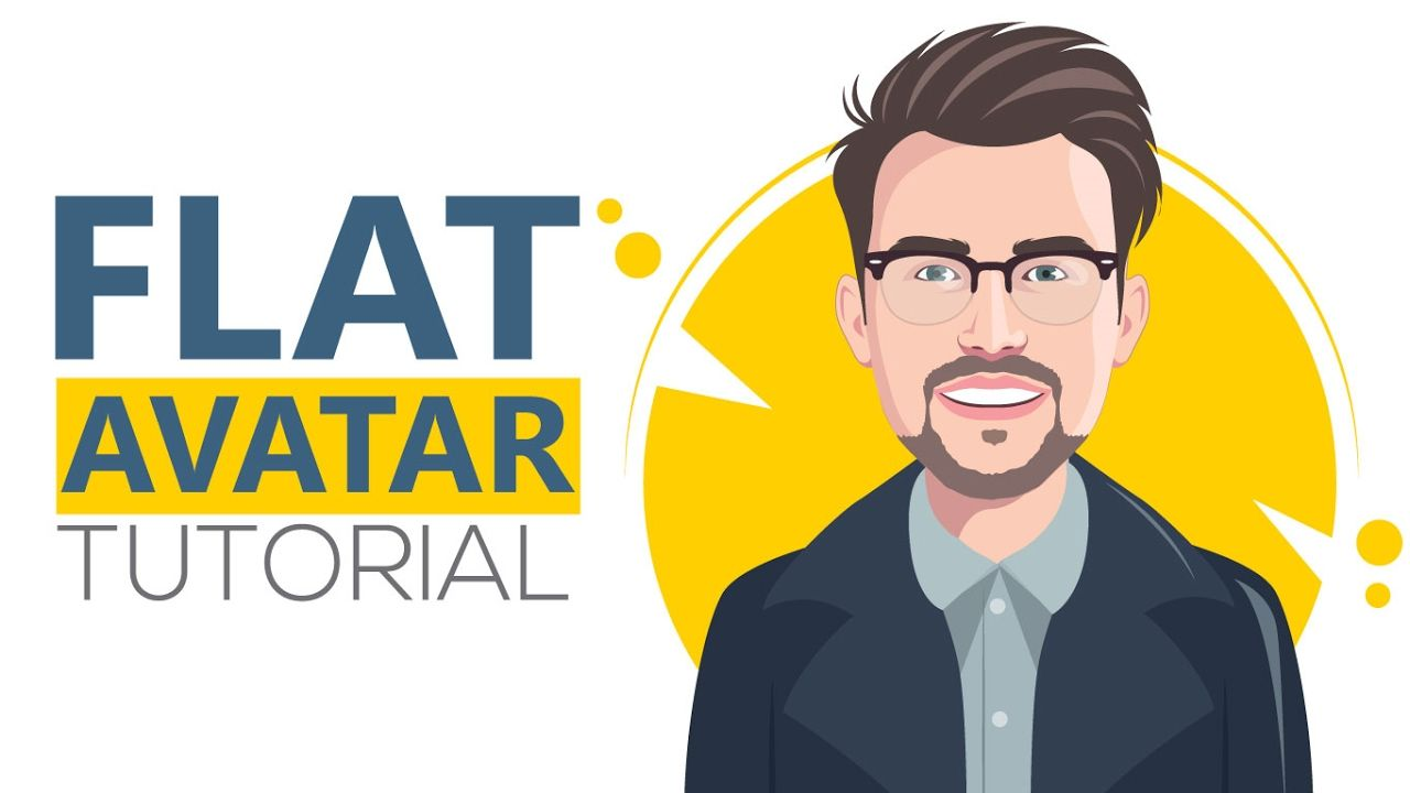 Adobe illustrator cc 2017 tutorial how to design a flat avatar adobe illustrator cc 2017 tutorial how to design a flat avatar with det baditri Images