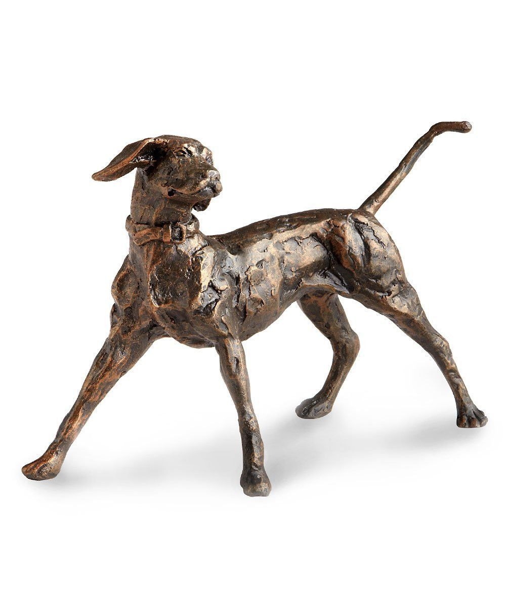 Dog Ready to Fetch Sculpture