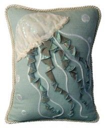 Jellyfish Jellyfish Pillow