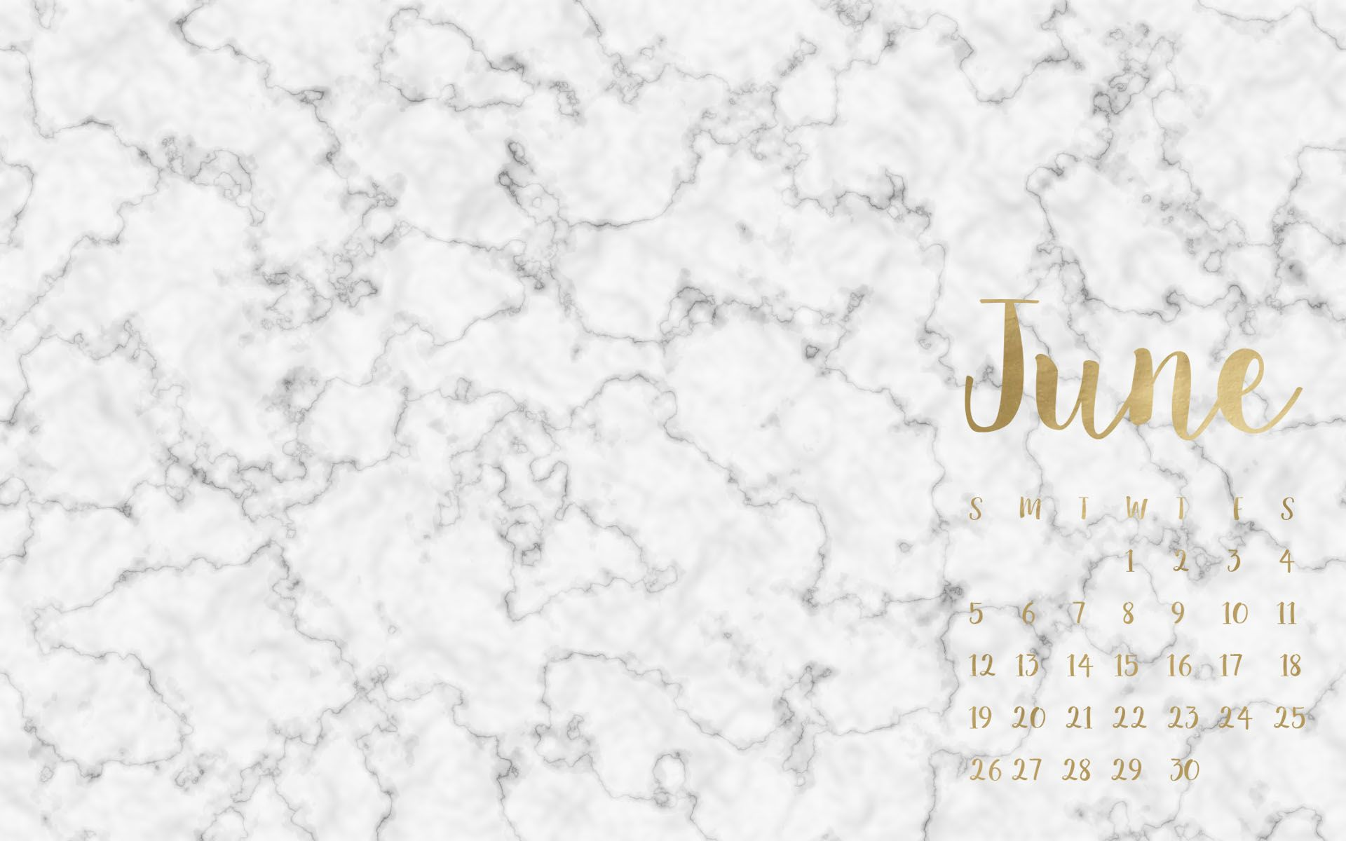 Marble Calendar Wallpaper November : Free june desktop wallpapers dress your tech