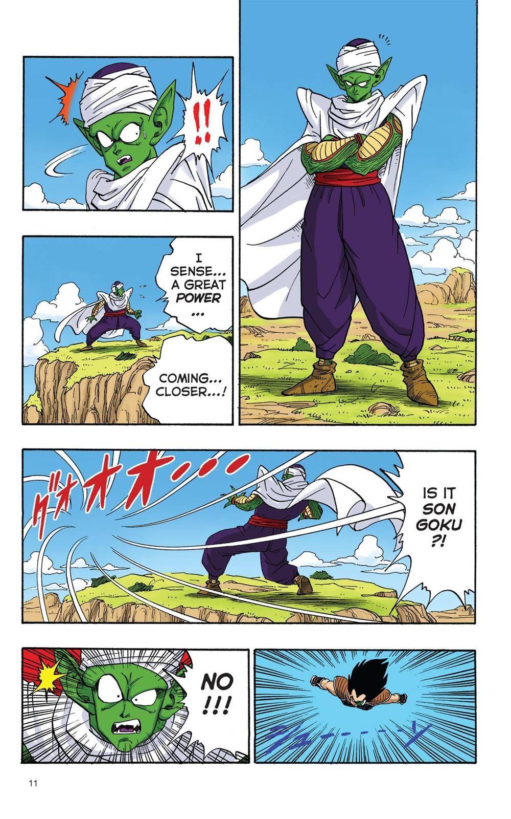 Dragon Ball Full Color Saiyan Arc Chapter 1 Page 12 Anime Dragon Ball Super Dragon Ball Artwork Dragon Ball Art