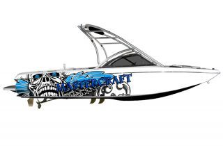 Boat Wraps Graphics Decals Kit Wrap Decal Graphic Skin