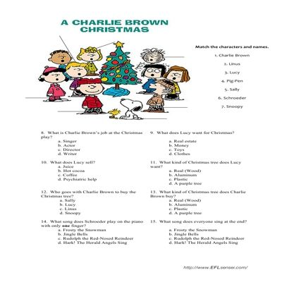 Charlie Brown Christmas quiz | Christmas | Pinterest | Charlie brown ...