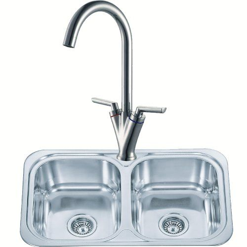 Double Bowl Kitchen Sink And A Mixer Tap Set (pack KST103) Grand ...