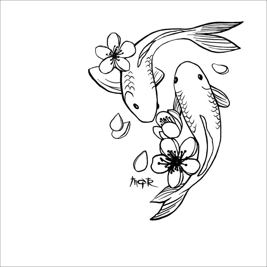 50 Best Simple Tattoos Designs Simple Tattoo Designs Koi Tattoo Design Koi Tattoo