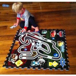 Tapis Puzzle Mousse Cars Circuit Geant Disney Tatamiz Jouets