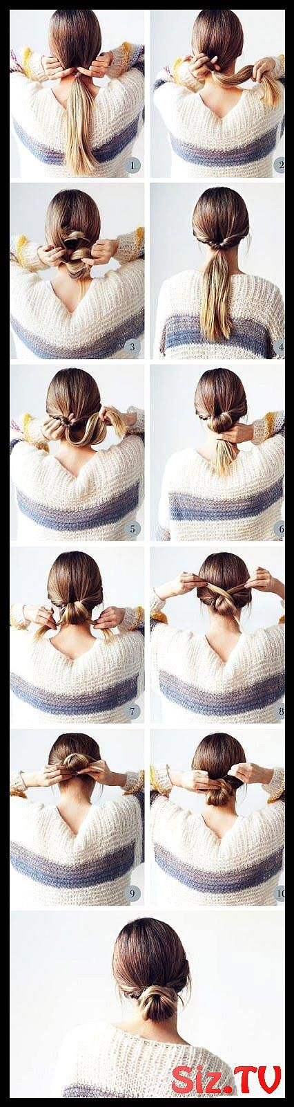 62 Easy Hairstyles Step By Step Diy 62 Easy Hairstyles Step By Step Diy Are You Feeling Bored With Your Messy Bun Hairstyles Hair Tutorials Easy Bun Hairstyles