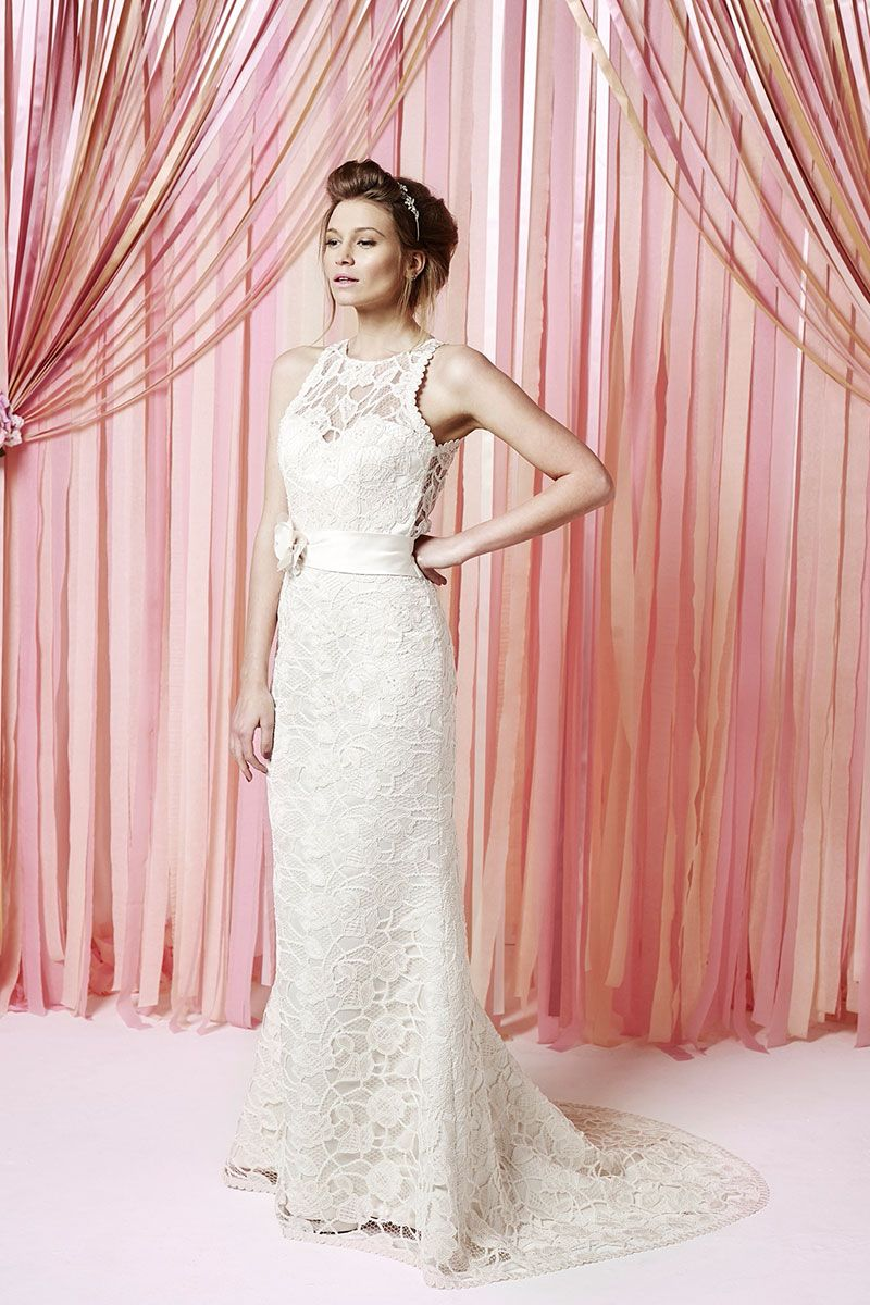 41a8f11a90007 Marnie | Lace Fit and Flare Wedding Gown | Lace Wedding Dress | Charlotte  Balbier