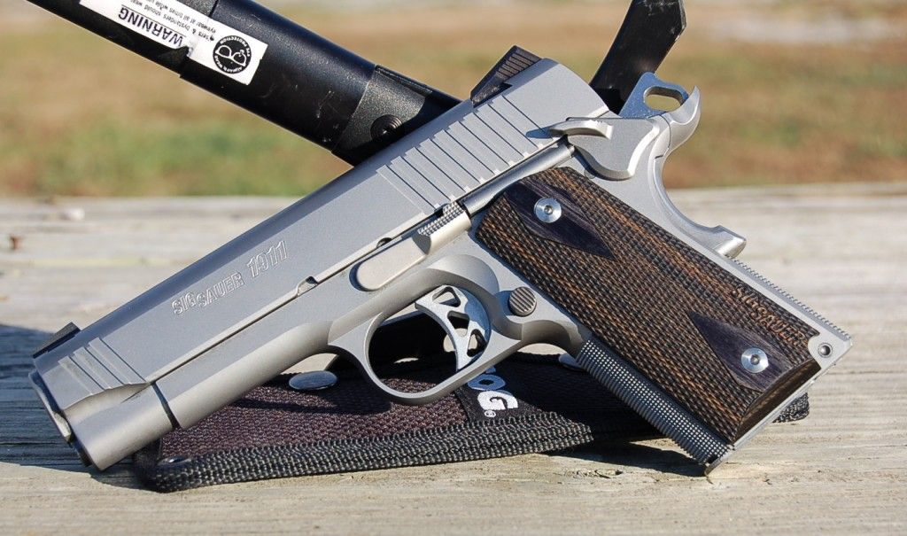 Sig Sauer Traditional 1911 Compact Review. Sig is my ...