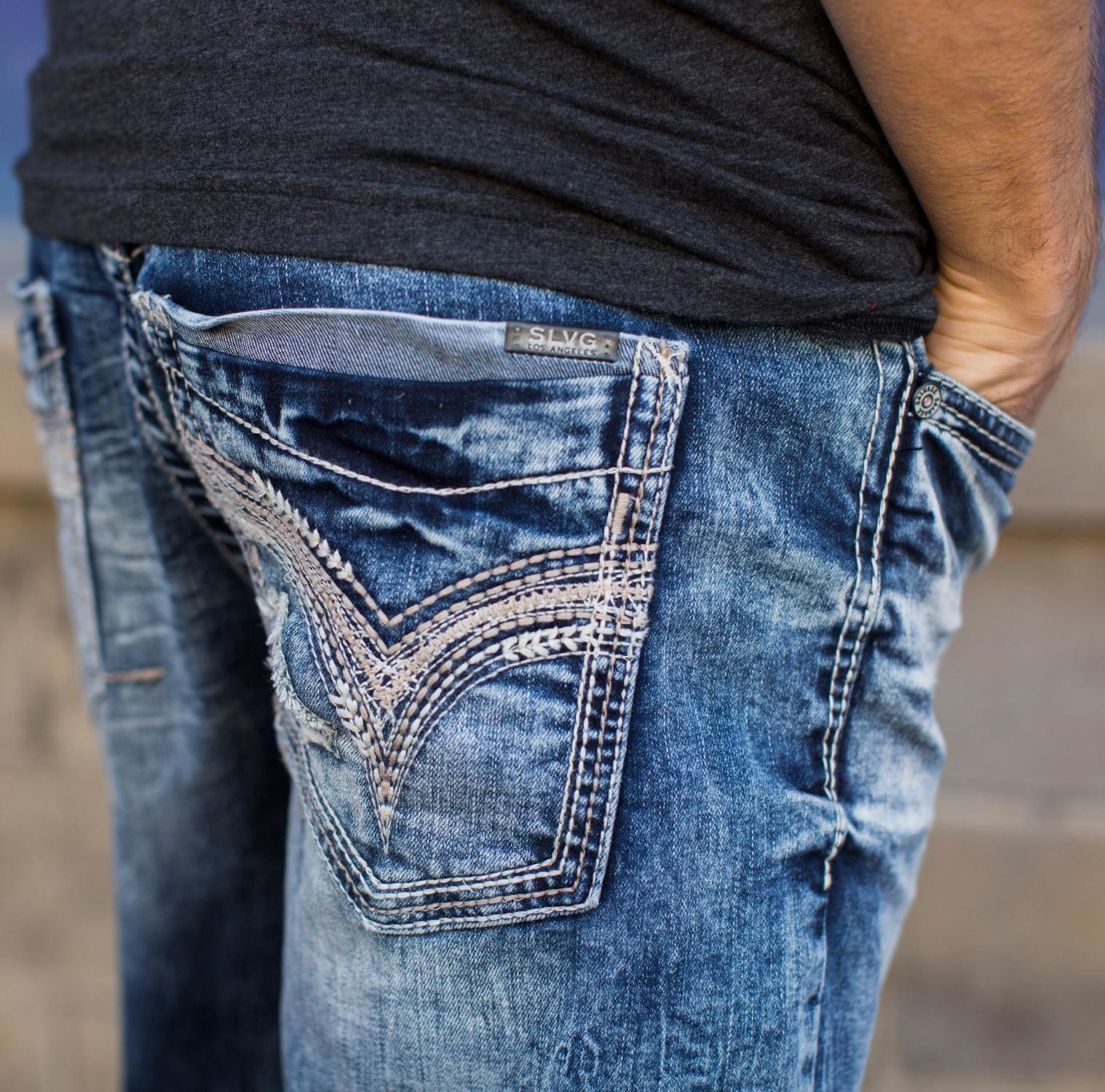Salvage Mayhem Straight Jean - Men' Jeans Buckle