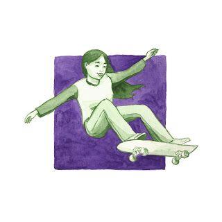 Peggy Oki - Kindred Journey, Asian Heritage month, Skater, Skateboarding, environmentalist