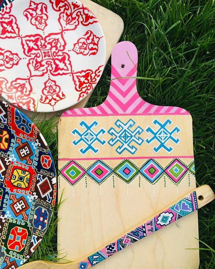 Wood National Ornaments Wood Ornaments Pot Holders