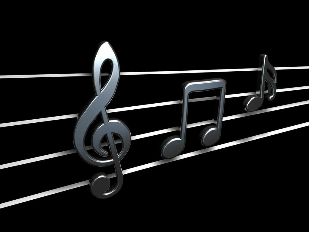Pin By Kathy Blacklock On Music For The Soul 3d Wallpaper Music Music Wallpaper Music Notes